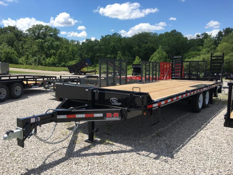 2019 B-B 102 x 23 Equipment Trailer