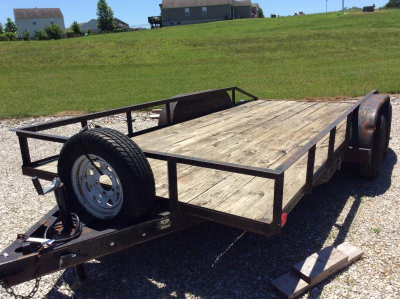 2003 Jerry James Utility Trailer
