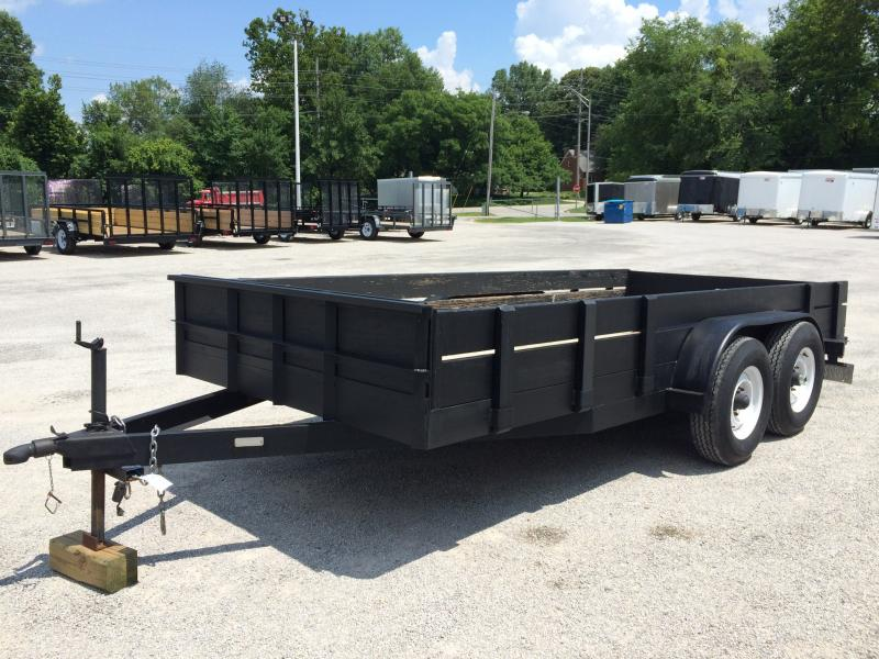 1995 Interstate 78 x 15.5 Utility Trailer