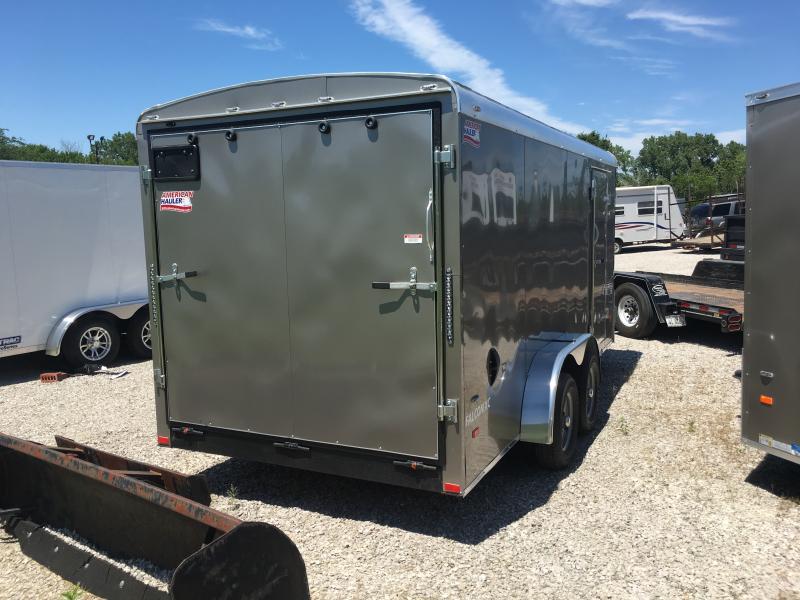 2019 American Hauler Industries 7 x 16 Enclosed Cargo Trailer