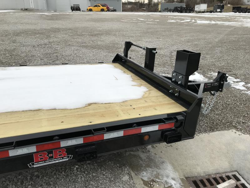 2019 B-B 83 x 22 Tilt Equipment Trailer