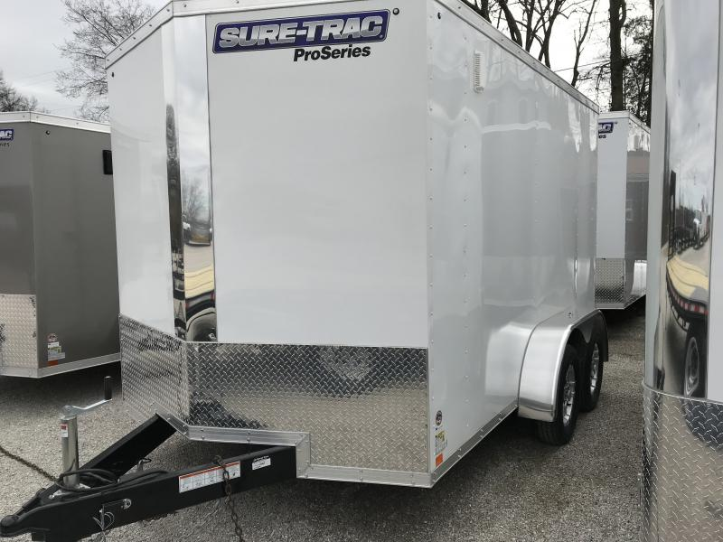 2019 Sure-Trac 7 x 12 Pro Series Wedge Cargo TA 7K