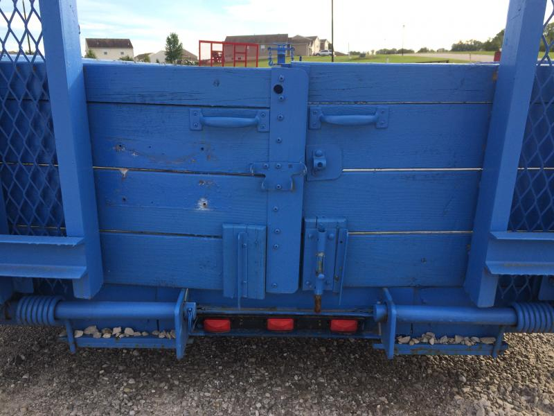 2006 Rice RTSS18 Equipment Trailer