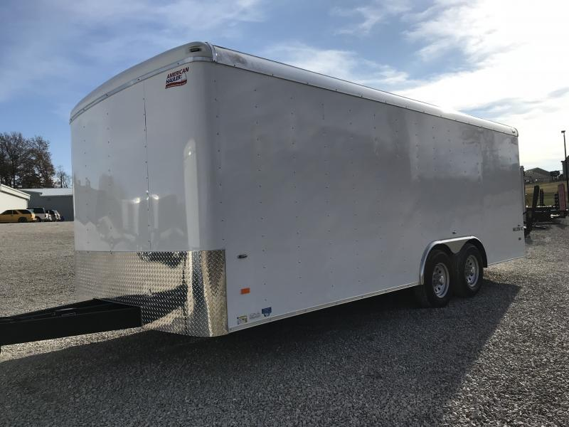2019 American Hauler Industries AFX 8.5 X 20 Enclosed Cargo Trailer