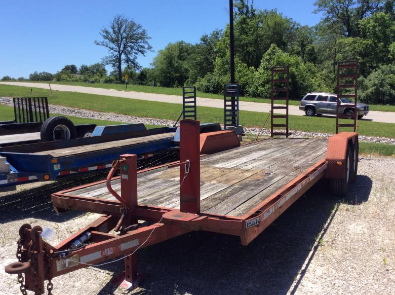 1998 CornPro Trailers 22 Equipment Trailer