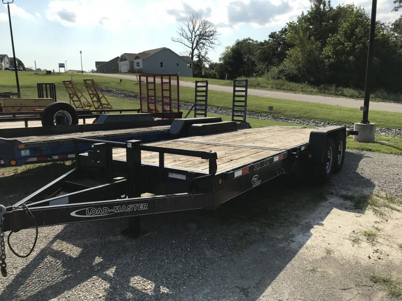 2011 Loadmaster Trailer Company 22' Tilt Equipment Trailer