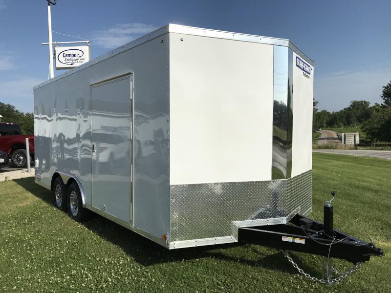 2019 Sure-Trac 8.5x18 Pro Series Wedge C. Hauler TA 10K