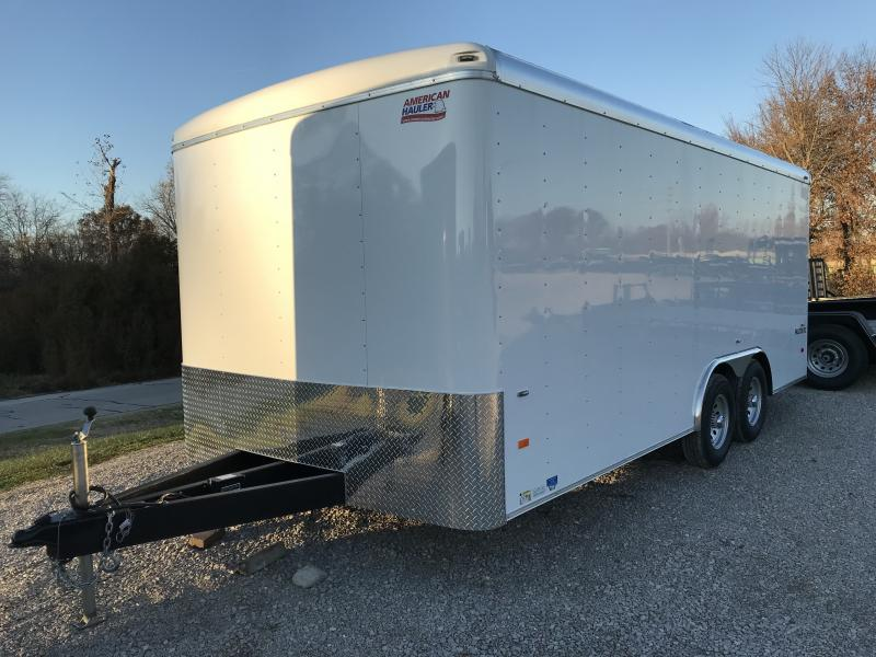 2019 American Hauler Industries AFX 8.5 x 18 Enclosed Cargo Trailer