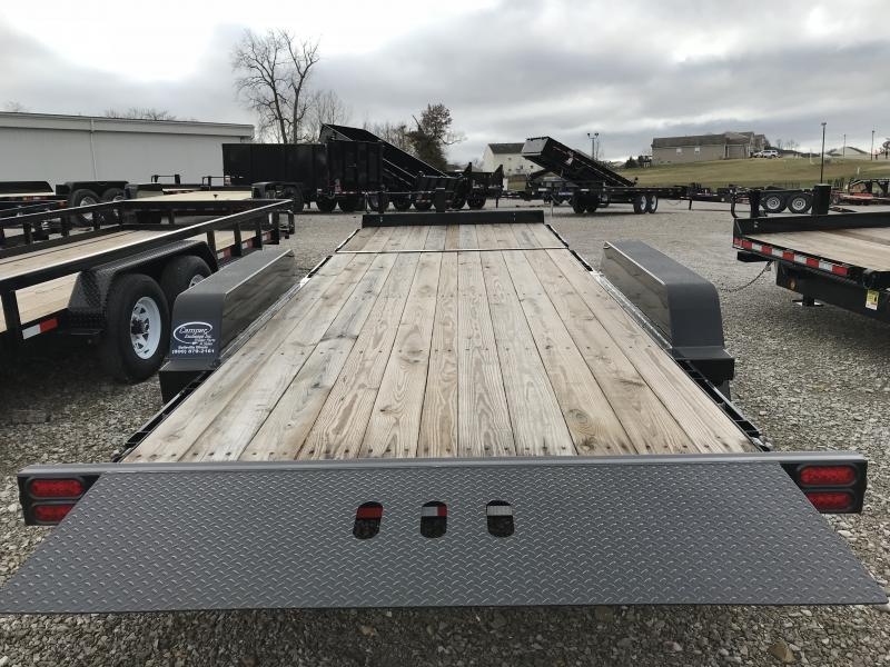 2018 B-B 81 x 22 Tilt Equipment Trailer