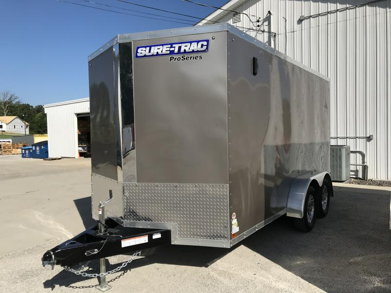 2019 Sure-Trac 7 x 14 Pro Series Wedge Cargo TA 7K