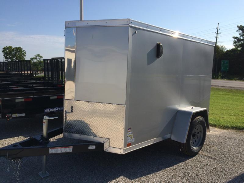 2018 Sure-Trac 5 x 8 Pro Series Wedge Cargo SA