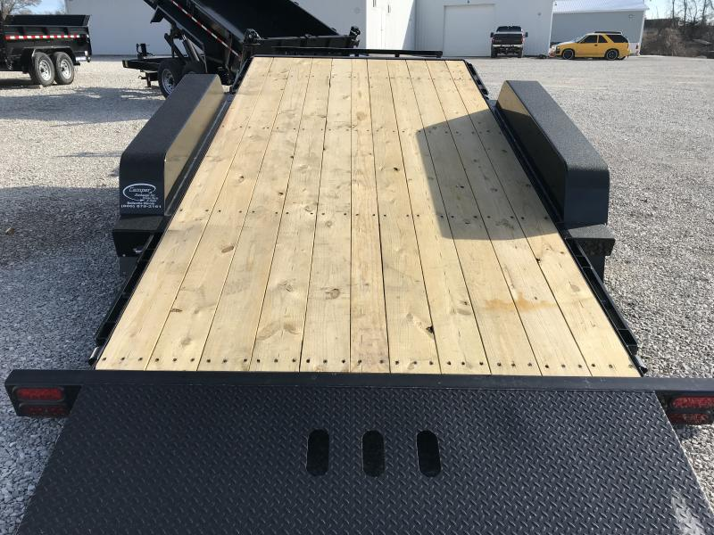 2019 B-B 81 x 20 Tilt Equipment Trailer