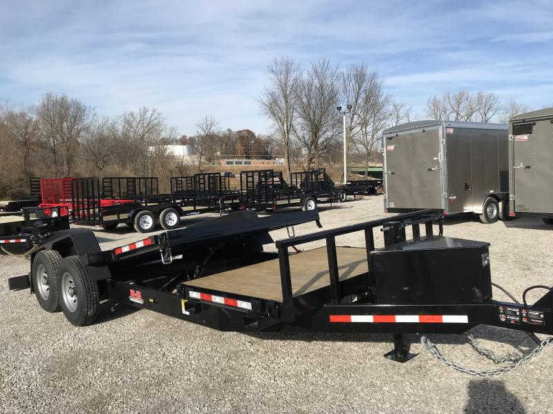 2019 B-B 81 x 20 Tilt Equipment Trailer