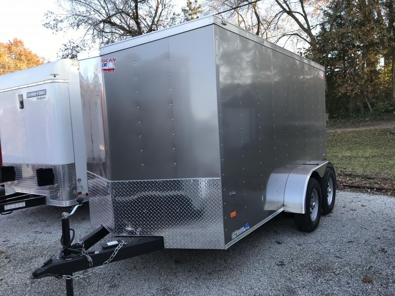 2019 American Hauler Industries Night Hawk 6 x 12 Enclosed Cargo Trailer