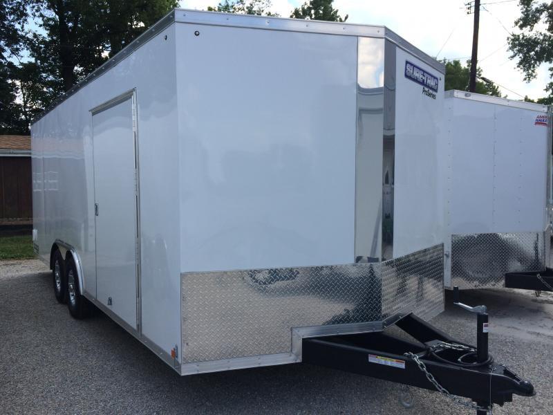 2018 Sure-Trac 8.5x20 Pro Series Wedge C. Hauler TA 10K