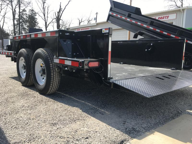 2018 B-B Drop Deck Equipment Trailer