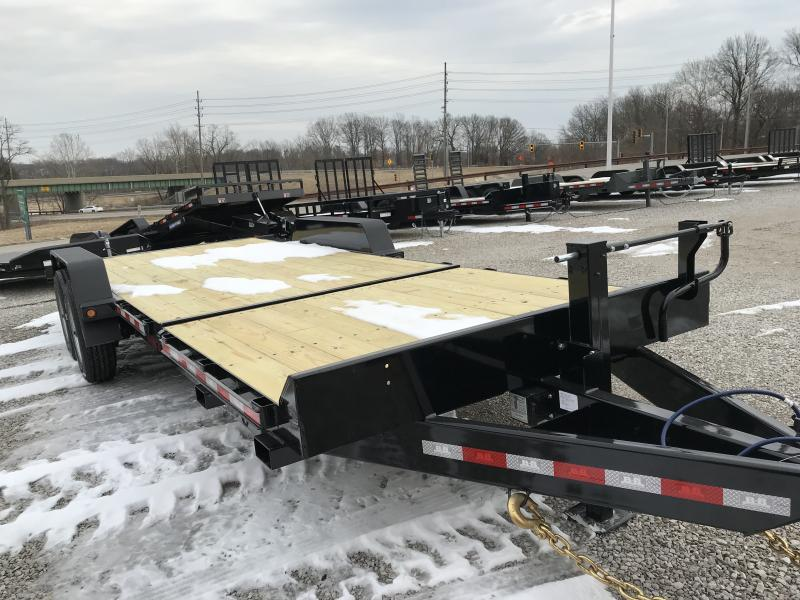 2019 B-B 83 x 22 Tilt Equipment Trailer