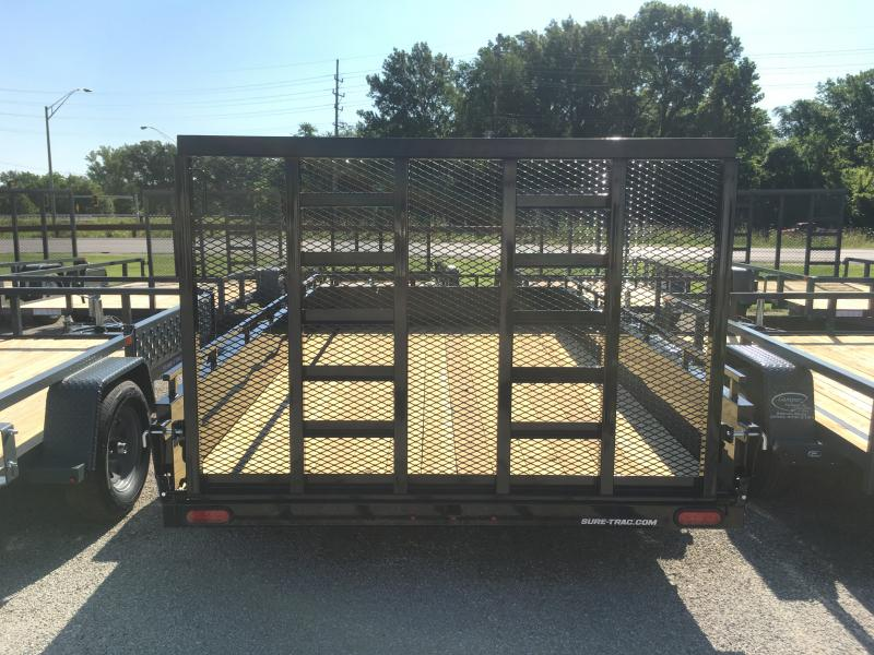 2020 Sure-Trac 7 x 12 Steel High Side  3k Idler