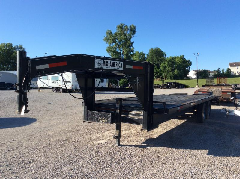 2014 Standard Gooseneck Equipment Trailer