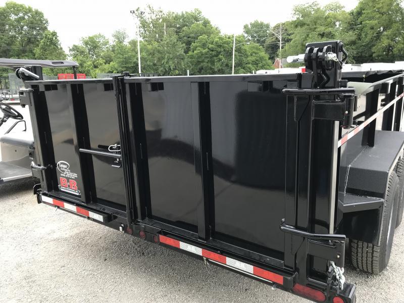 2019 B-B 83 x 14 Dump Trailer