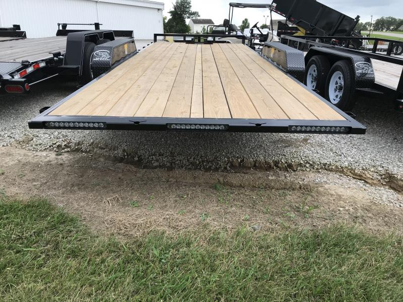 2019 Sure-Trac 7 X 20 Flatbed Tilt Trailer