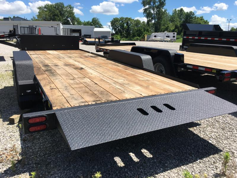 2019 B-B 81 x21 Equipment Trailer