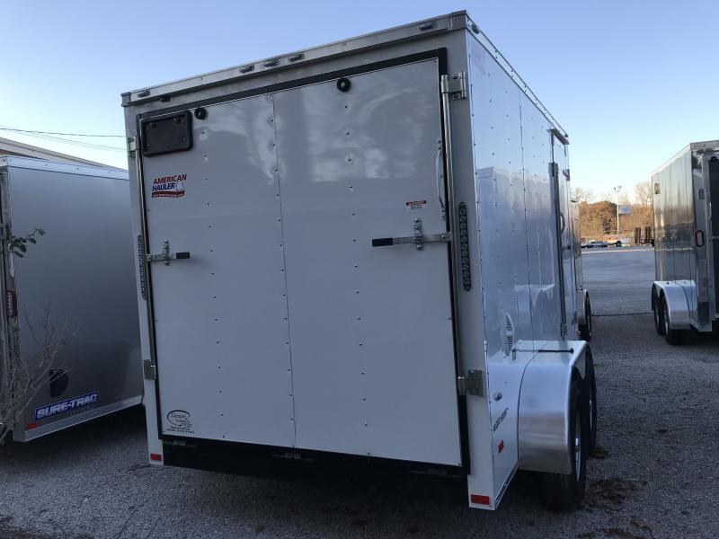 2019 American Hauler Industries Night Hawk 7 x 12 Enclosed Cargo Trailer
