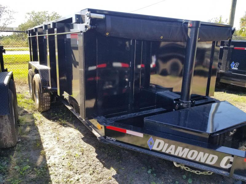 2019 Diamond C Trailers 24LPD Dump Trailer