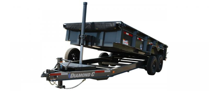 Diamond C 24lpd TELESCOPIC Low Profile Dump 4' sides