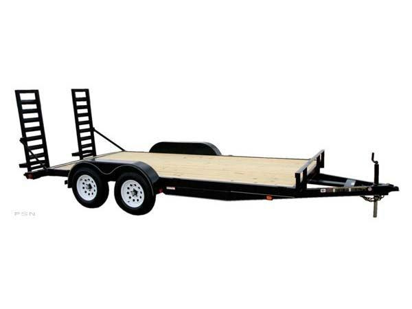 Carry-On 7X16APDTFR1BRK - 7K GVWR - All Purpose Dovetail Utility Trailer