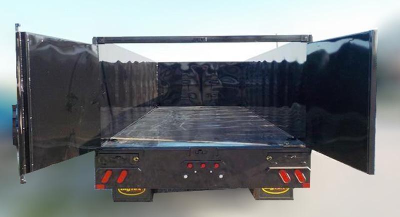 25DU 20' Tandem Dual Gooseneck Dump Trailer