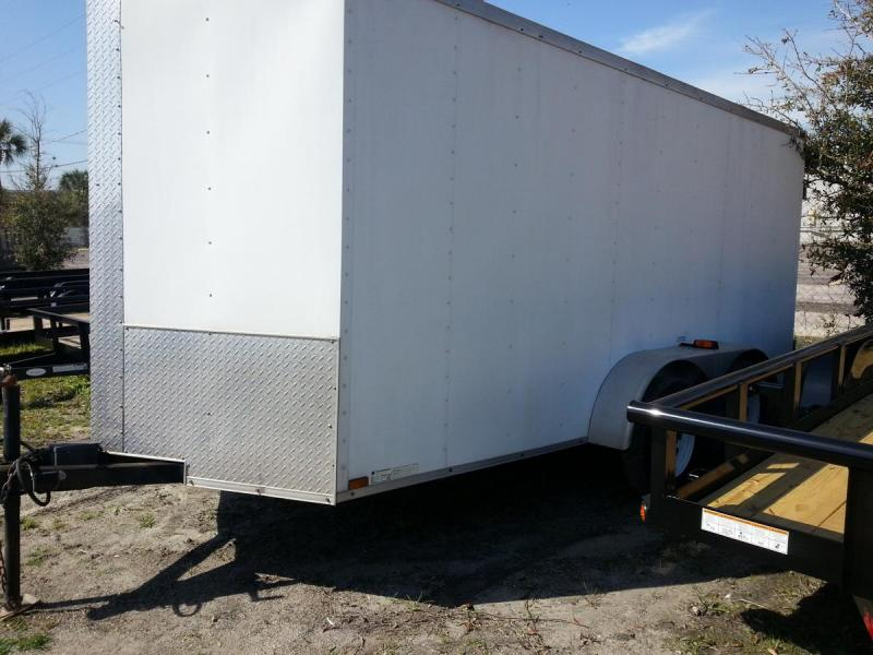 USED Arising 6x14x6 Enclosed Cargo Trailer Motorcycle