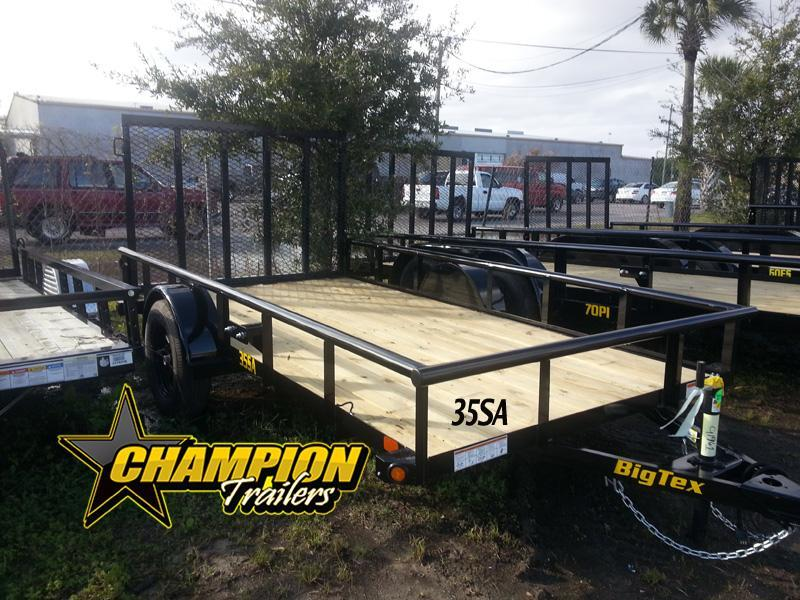 "Big Tex 77"" x 12' Utility Landscape ATV Trailer"