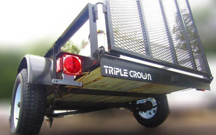2019 Triple Crown 6'4 x 12 Utility Trailer