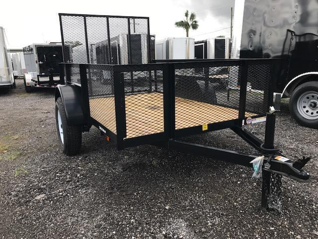 TC 5 x 8 Utility Trailer with 24