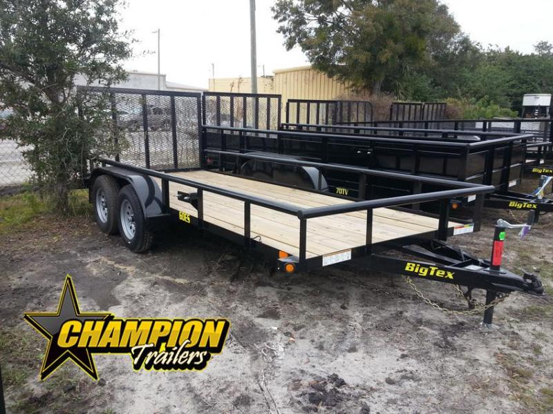 2019 Big Tex Trailers 60ES-16 Utility Trailer