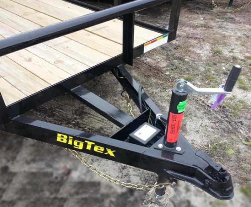 Big Tex Trailers 60ES-16 Utility Trailer landscape