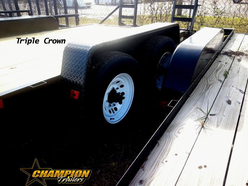 Triple Crown Trailers  7x20 ECF Equipment Trailer