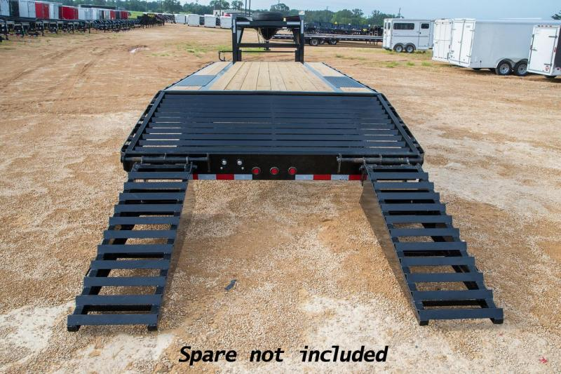 2019 Big Tex Trailers 14GN-205 Equipment Trailer