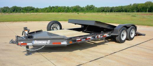 Diamond C Trailers 44HDT Equipment Trailer