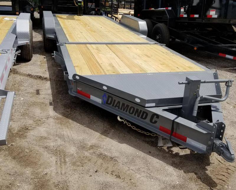 Diamond C Trailers HDT207-L 22X82 TILT Equipment Trailer