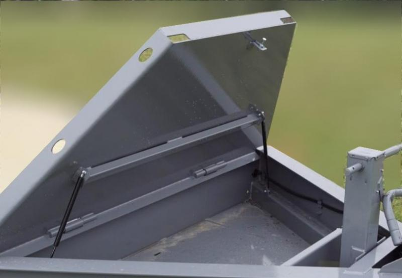 Diamond C Trailers HDT207-L 22X82 TILT Equipment Trailer