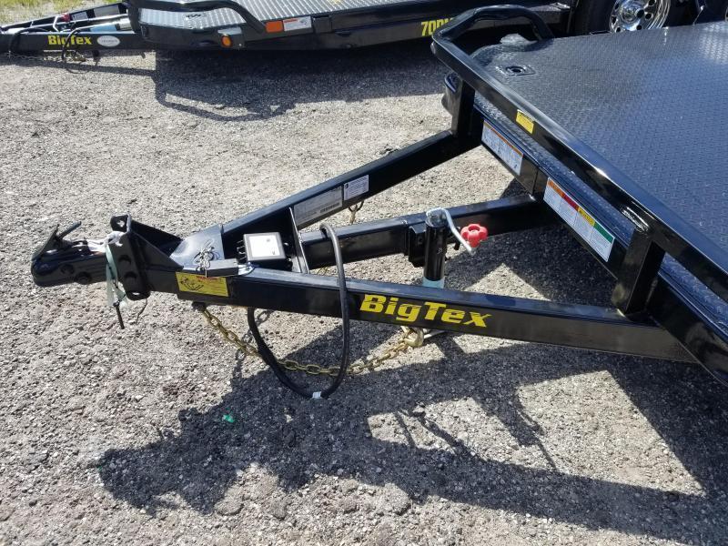 Big Tex Trailers 70DM-20BK 2EB Diamond Plate Carhualer Racing