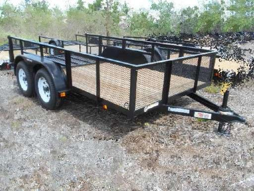 Triple Crown Trailers 6'4 x 12 Utility Trailer