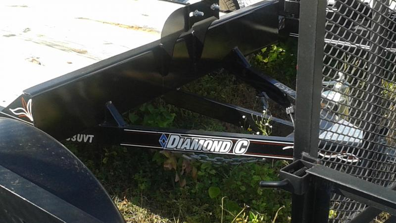 Diamond C Trailers Only One available