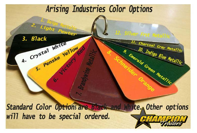 Call dealer for Pricing Special Order