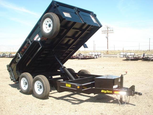10SR-12 Big Tex Tandem Axle Single Ram Dump