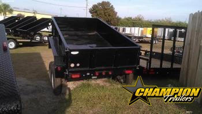 10SR-12 Big Tex Tandem Axle Single Ram Dump