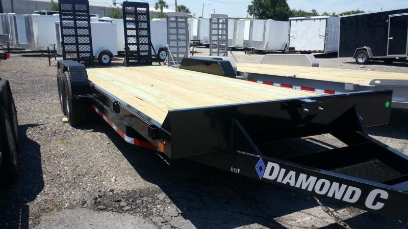 "2019 Diamond C Trailers EQT 20'x82""Equipment Trailer"