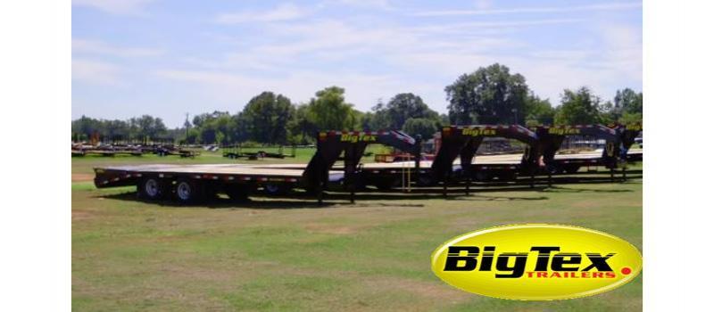 2019 Big Tex Trailers 22GN-32BK5 Equipment Trailer